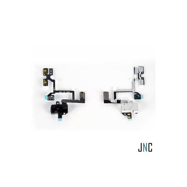 Nappe Audio/Jack/Vibreur iPhone 4 - Noire