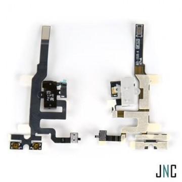 Nappe Audio/Jack/Vibreur iPhone 4S - Noire