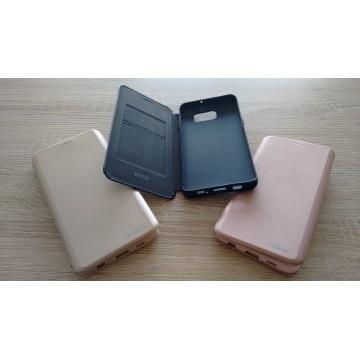 Coque Saina Samsung S6 EDGE Plus Noire