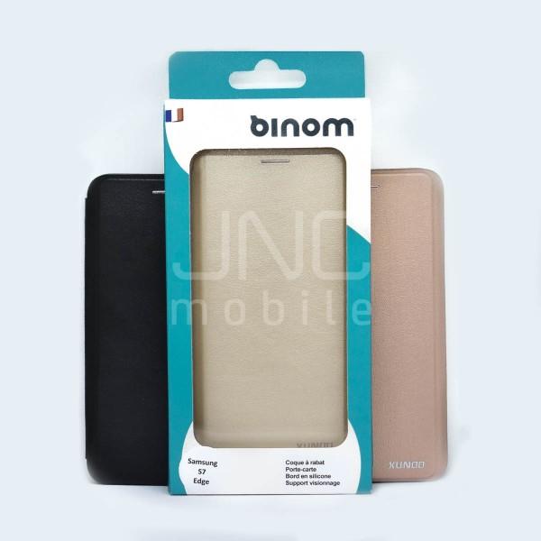 Coque Saina Samsung S7 EDGE Noire
