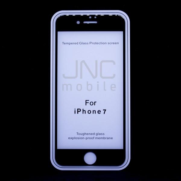 Film protection verre trempé 0,33mm Couverture totale iPhone 7 Noir
