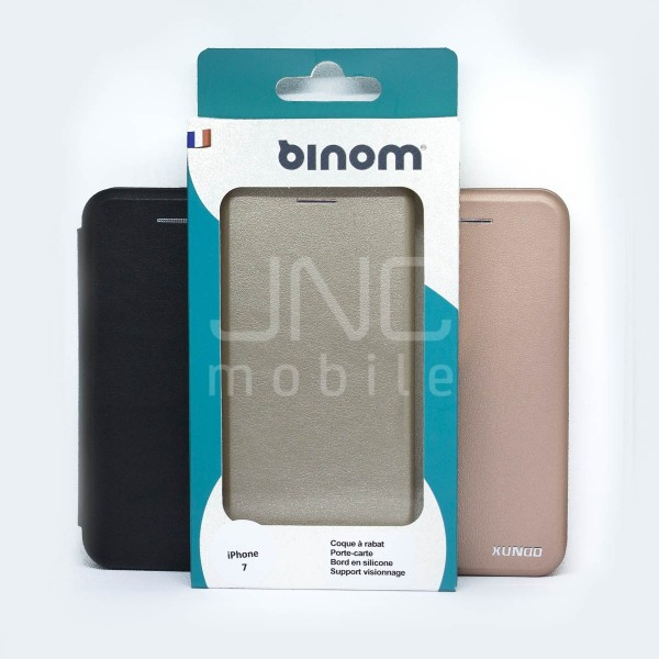 Coque Saina iPhone 7 Noire