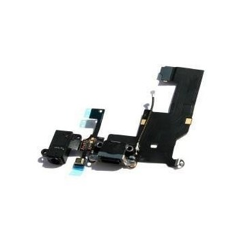 Nappe de charge iPhone 5S - Noire