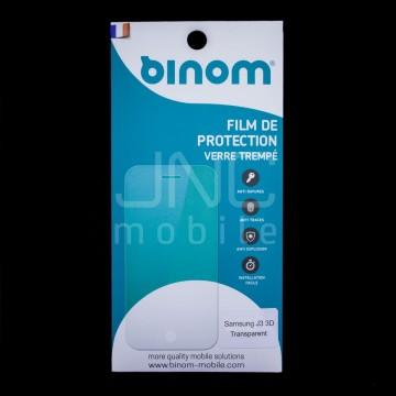 Film protection verre trempé 0,33mm Couverture totale 3D - Samsung J3 Transparent