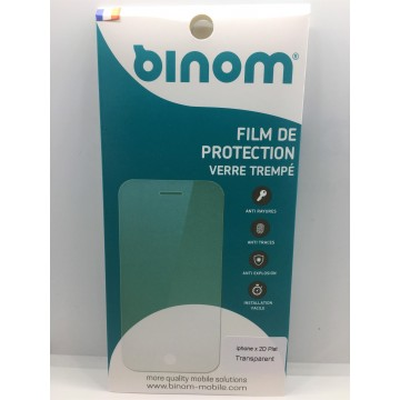 Film protection verre trempé 0,33mm - iPhone X