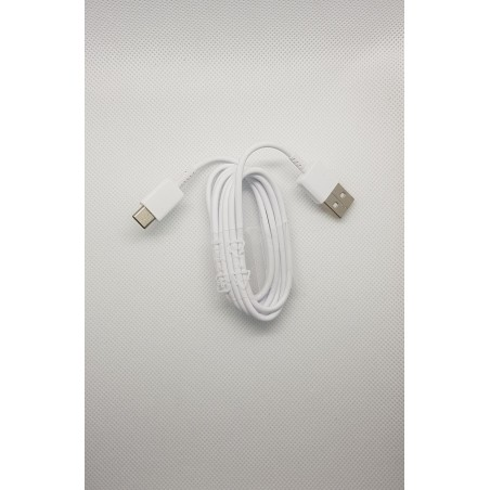 Câble 1m USB-C - Blanc