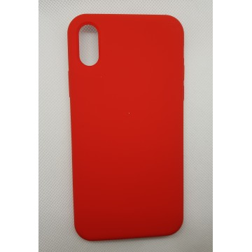 Coque Reno iPhone X Rouge