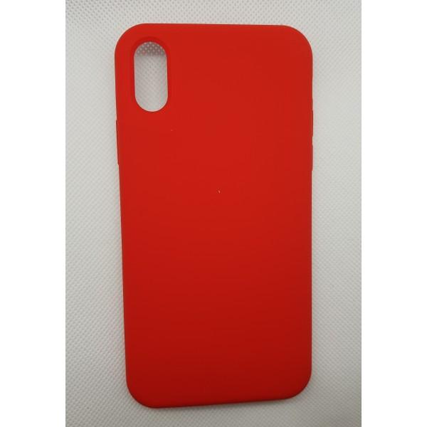 Coque Reno iPhone X Rouge