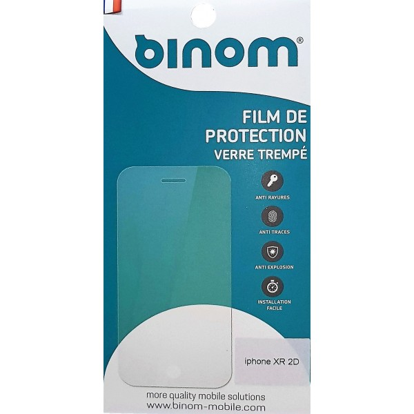 Film protection verre trempé 0,33mm - iPhone XR