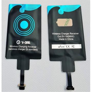 Etiquette récepteur sans fil QI - Android