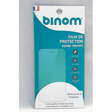 Film protection verre trempé 0,33mm  - Samsung S9 Transparent