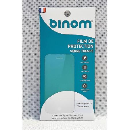 Film protection verre trempé 0,33mm  - Samsung S9 Plus Transparent