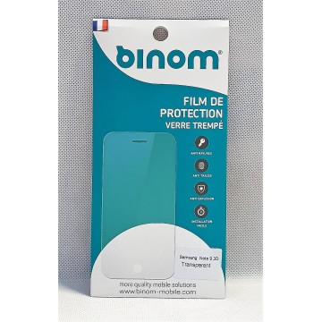 Film protection verre trempé 0,33mm  - Samsung Note 9 Transparent