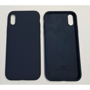 Coque Reno iPhone XR Bleu