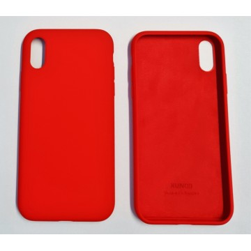 Coque Reno iPhone XR Rouge