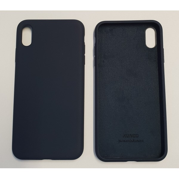 Coque Reno iPhone XS Bleu