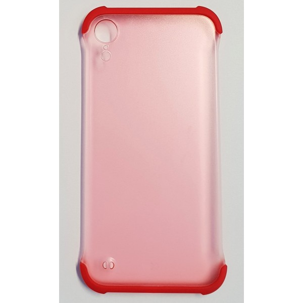 Coque Matin iPhone XR Rouge