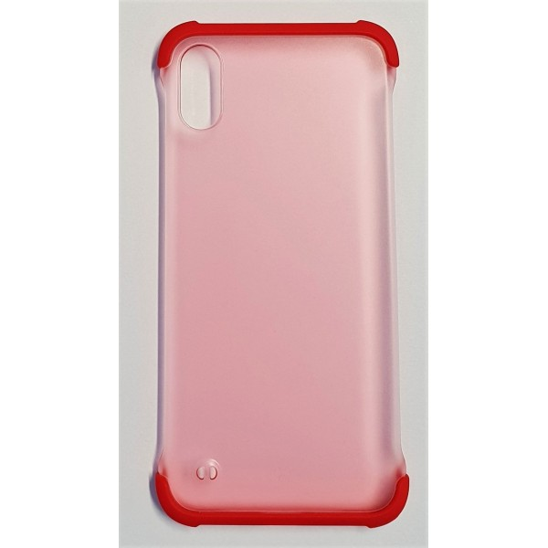 Coque Matin iPhone XS Rouge
