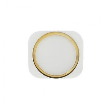 Bouton Home iPhone 5S - Blanc/Or