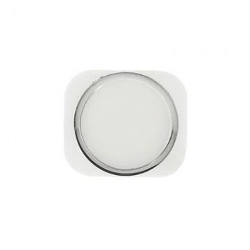 Bouton Home iPhone 5S - Blanc/Argent