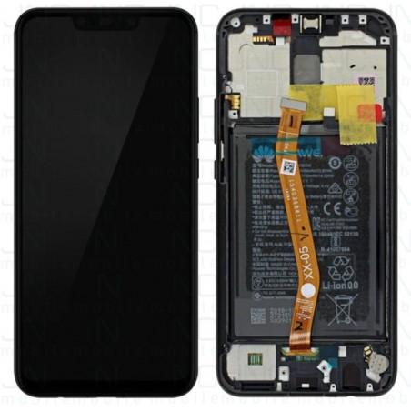 Ecran complet (LCD+Frame+Batterie) Huawei Mate 20 Lite - Noir