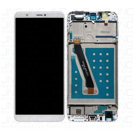 Ensemble (LCD+Frame) Huawei PSMART - Blanc