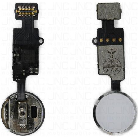 Nappe Bouton Home Bluetooth 1ére génération iPhone 7/7+/8/8+ - Blanc