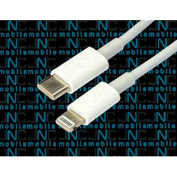 Câble 1m USB-C vers ligthning - Blanc