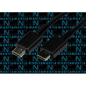 Câble 1m USB-C vers USB-C - Noir