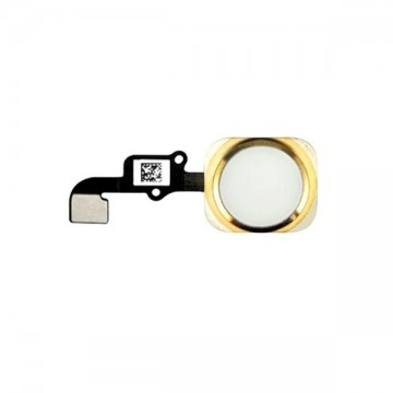 Nappe Home Bouton complet iPhone 6 - Or