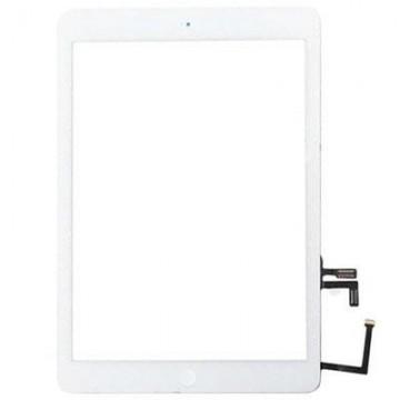 Écran tactile iPad Air avec bouton home et adhésif - Blanc