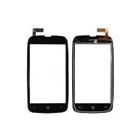 Écran Tactile + Support Lumia 610 - Noir
