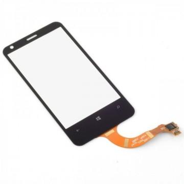 Écran Tactile + Support Lumia 620 - Noir