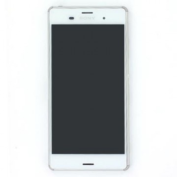 Écran complet (Tactile + LCD + Cadre) Sony Z3 - Blanc
