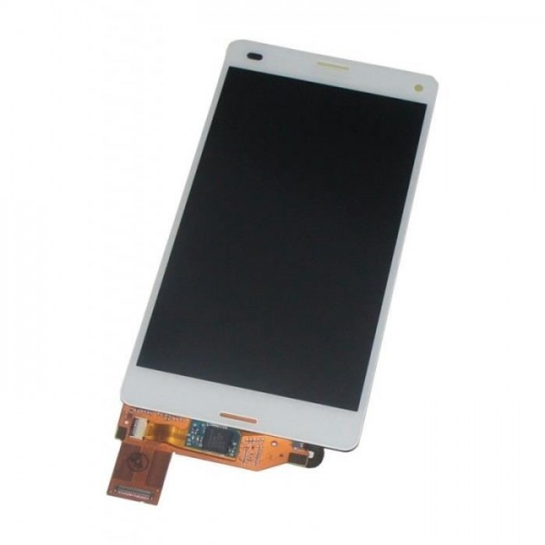 Écran complet (Tactile+LCD+Cadre) Sony Z3 compact - Blanc