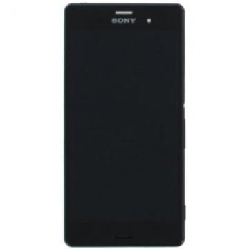 Écran complet (Tactile+LCD+Cadre) Sony Z3 - Noir