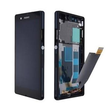 Écran complet (Tactile+LCD+Cadre) Sony Z - Noir