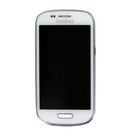 Écran complet Galaxy S3 Mini i8190 - Blanc