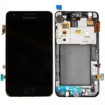 Écran complet Galaxy S2 9100 Noir