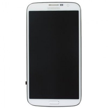 Écran complet Galaxy Mega i9205 - Blanc