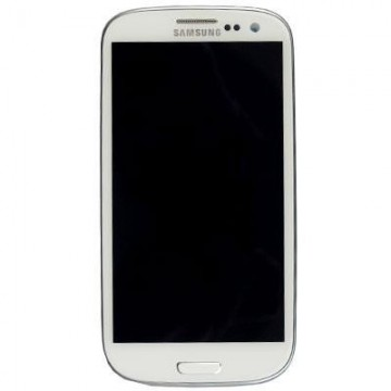 Écran complet Galaxy S3 9305 Blanc