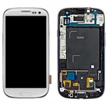 Écran complet Galaxy S3 9300 Blanc