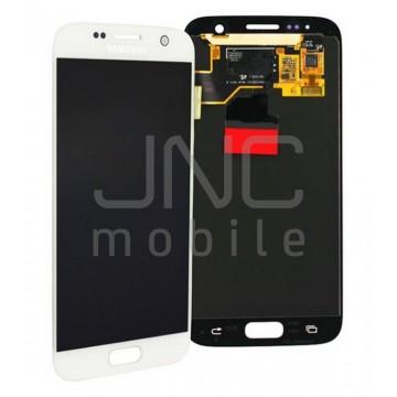 Ecran complet Samsung S7 - Blanc