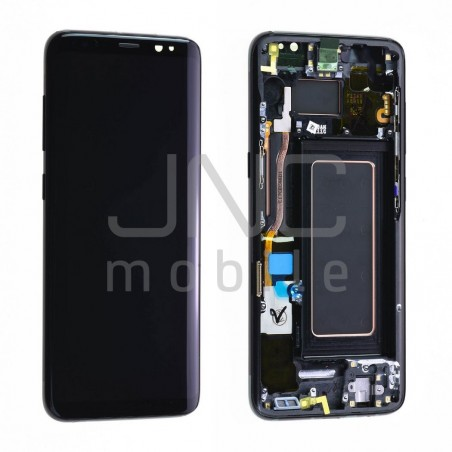 Ecran complet Samsung S8 - Noir