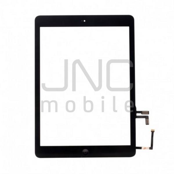 Écran tactile iPad 5 avec bouton home et adhésif grade AAA - Blanc