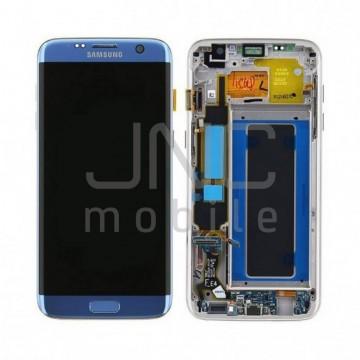 Ecran complet Samsung S7 Edge - Bleu