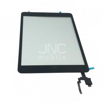 Écran tactile iPad Mini 3 avec bouton home et adhésif - Noir