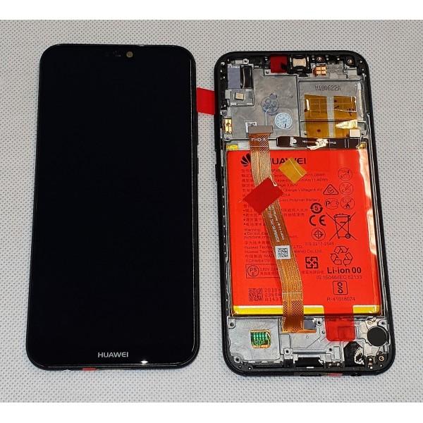 Ecran complet (LCD+Frame+Batterie) Huawei P20 Lite - Noir