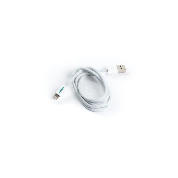 Câble 1m USB Binom iPhone 5 CopyCat - Blanc