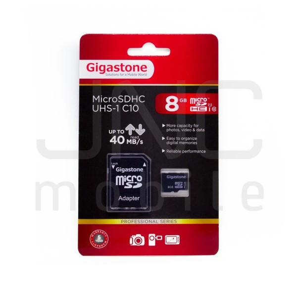 Carte Mémoire Micro SDHC 8GB Classe 10